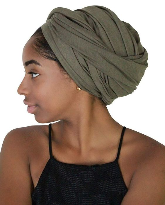 Rayna Josephine Strong Colour Head Wrap -Stretch Lengthy Hair Scarf Turban Tie #headb