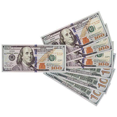 Saltov 100 Dollar Bill Prop Money Copy Set Of 80 Any Good Is It