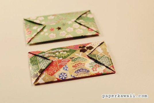 Easy Origami Envelope Tutorial - DIY - Paper Kawaii - YouTube | 357x536