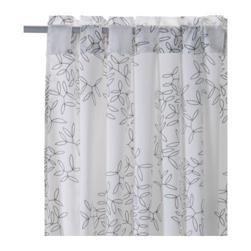Hedda Blad Pair Of Curtains Ikea A Thin Sheer Pair Of
