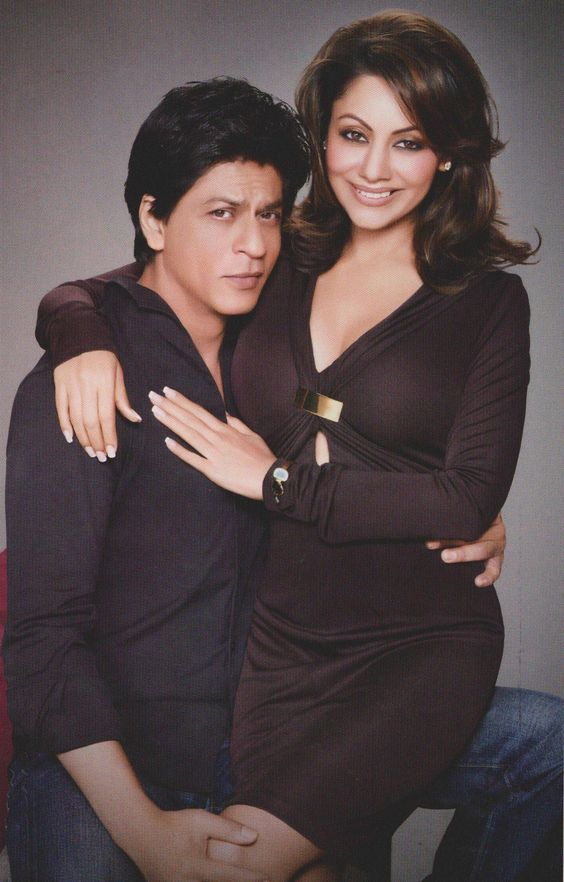 srk & gauri for d'decor:
