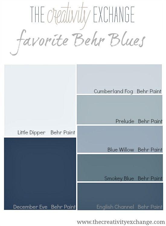 behr blue paint colors and paint colors on pinterest