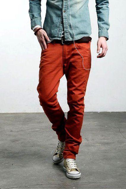 I just love boys' clothes.