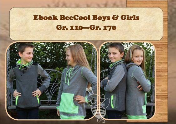 BeeKiddi - Ebooks - trendige Nähideen: BeeCool Girls & Boys für unsere coolen Kids