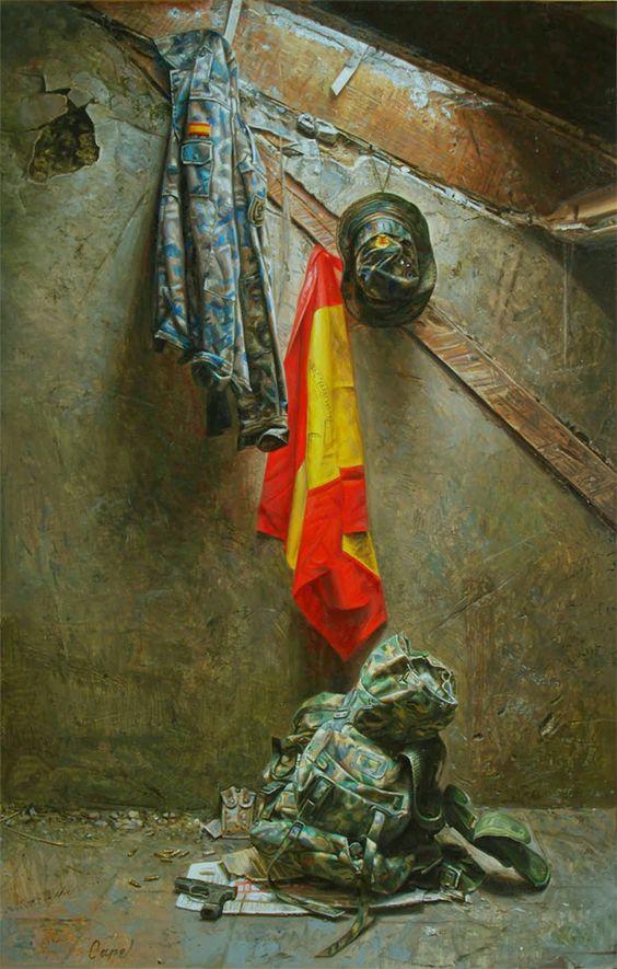 Antonio Guzman Capel Antonio Carlos Guzmán Capel, conocido por su nombre artístico Capel (Tetuán, 19 de enero de 1960), es un pintor español que reside actualmente en la ciudad de Palencia. @@@@.....http://www.taringa.net/posts/arte/16181776/El-arte-hiperrealista-de-Antonio-Guzman-Capel.html