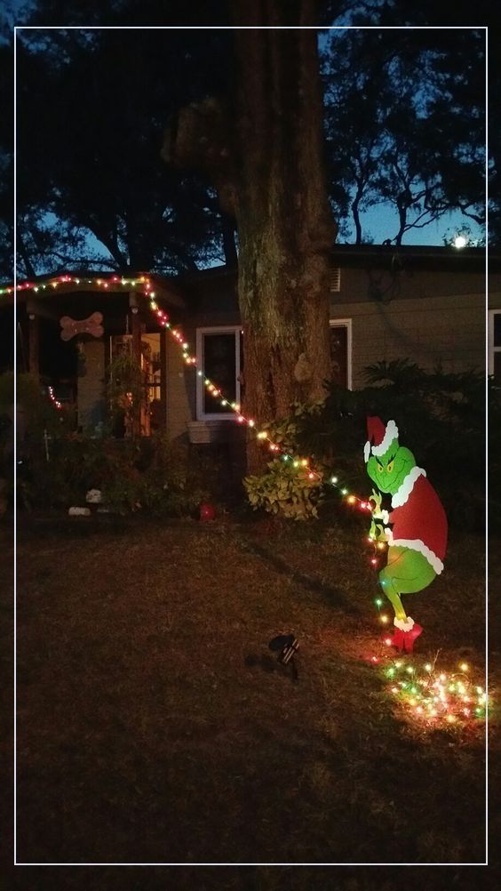 Outdoor Christmas Decorations 54130 40 Grinch Themed Christmas Party Ideas In 2020 Grinch Christmas Decorations Outdoor Whoville Christmas Grinch Christmas Decorations