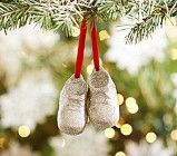 Glitter Baby Booties Ornament