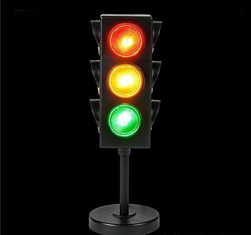 Traffic Light Table Lamp 8 Inches Cool And Fun Bright L Https Www Amazon Com Dp B07bn1ff7w Ref Cm Sw R Pi Dp U X A1u0a Light Table Lamp Novelty Lighting