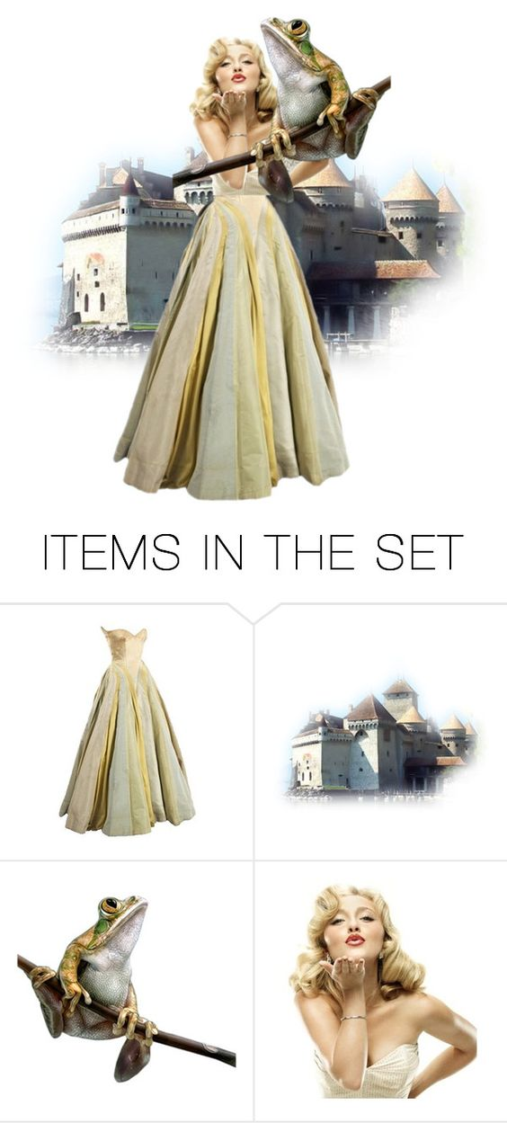 """""""The Frog Prince"""" by najoli ❤ liked on Polyvore featuring art"""