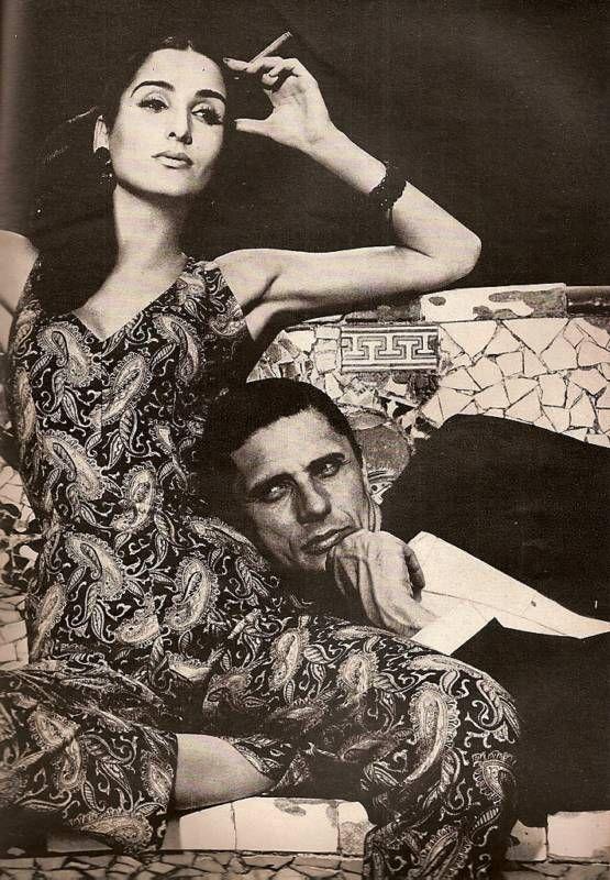 Bazaar January 1965   Avedon & Naty Abascal in Ibiza
