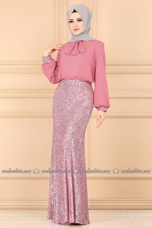 Modaselvim Yeni Urunler Tesettur Istanbul Sayfa 57 Elbiseler Elbise Elbise Dugun
