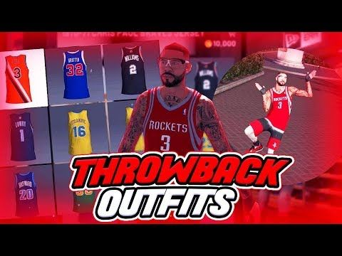 This Weeks Best Throwback Jersey Outfits Nba 2k19 Https Youtube Com Watch V Fchsr 3hlps Jersey Outfit Throwback Nba