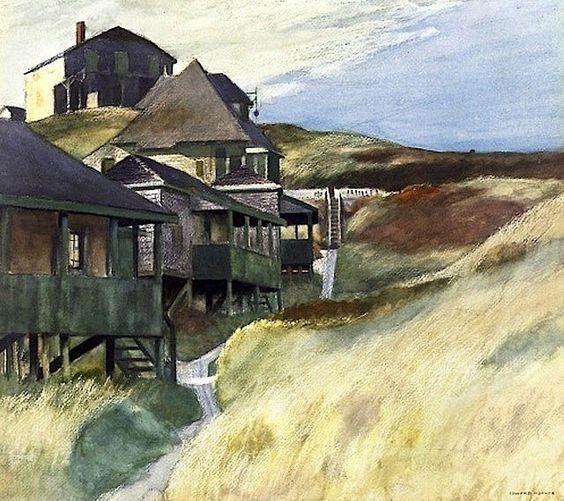 Shacks at Pamet Head, Edward Hopper