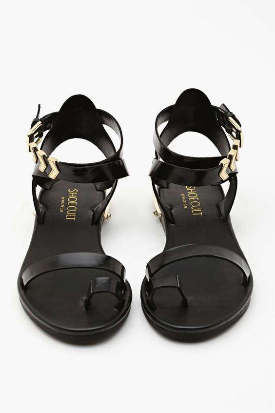 Shoe Cult Zealand Sandal - Black