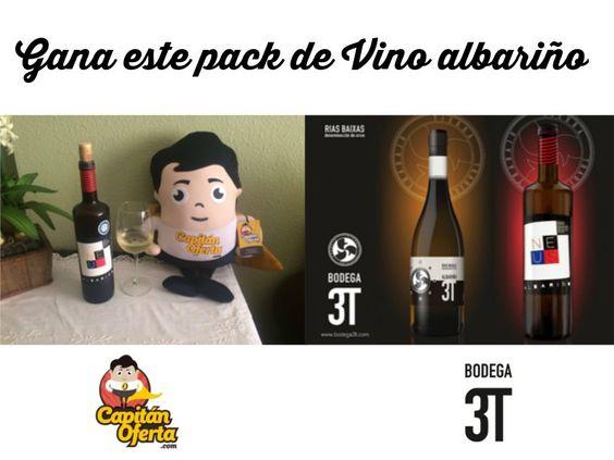 Sorteo de lote de Vino Albariño Bodega 3T