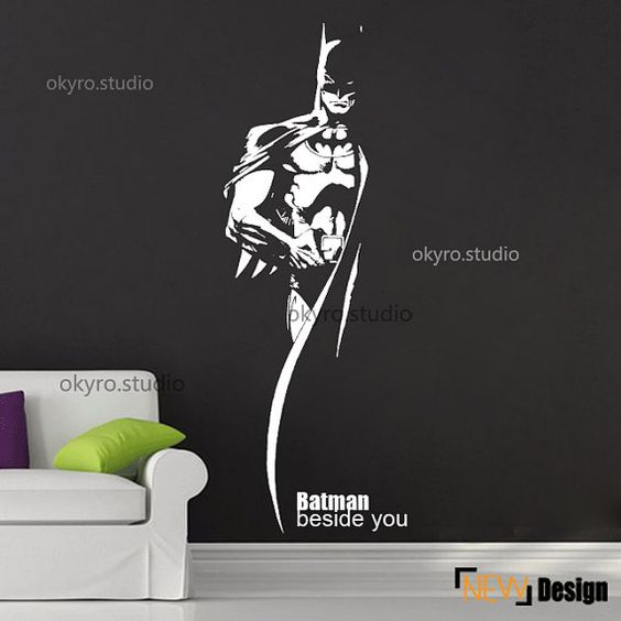 Hey, I found this really awesome Etsy listing at https//www.etsy/listing/201796330/batman-wall-stickers-batman-wall-decal