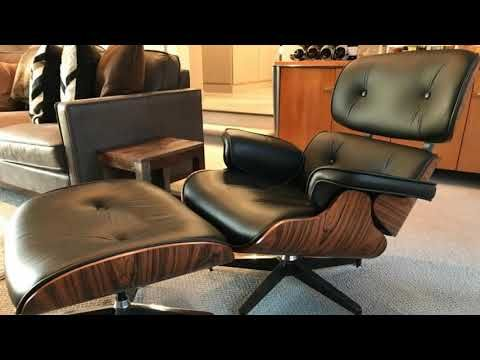 6000 Dollar Chair For Under 600 Is This The Best Herman Miller Eames Lounge Chair Replica Youtu In 2020 Eames Lounge Chair Eames Lounge Eames Lounge Chair Replica