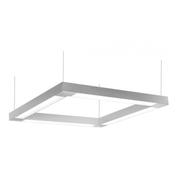 Industrial Lighting Applications: Alcon Lighting CUBE-2 10205 2' Square Suspended
