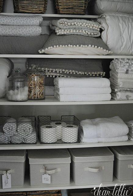 Jenni's Home - Hall Closet - Dear Lillie Studio