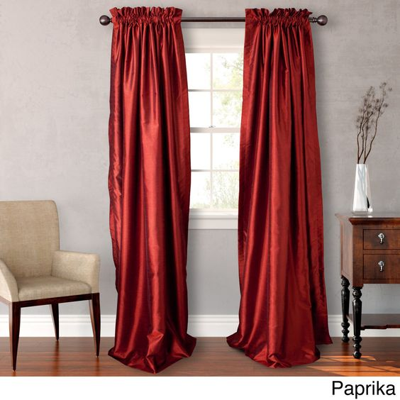 Heritage Landing 96-inch Lined Curtain Panel Pair