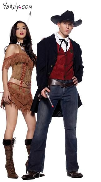 Wild West Couples Costume