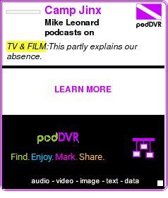 #TV #PODCAST  Camp Jinx    Mike Leonard podcasts on msnbc.com    LISTEN...  http://podDVR.COM/?c=4ec45a91-0991-68f7-0ab2-2bcb37b153c0