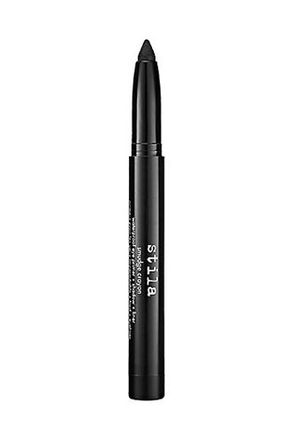 """For mature women, Aucoin says that as the shape of the eye """"softens,"""" more defining might be necessary. Keep the intensity on the upper lashline by using smudged shadows and using less for the undereye area. Try an all in one primer, shadow, and liner in pencil form for ultimate versatility. Stila's formulations somehow manage to be waterproof but still very creamy, workable, and long-wearing. Stila Smudge Crayon Waterproof Eye Primer + Shadow + Liner, $16, available at Stila."""