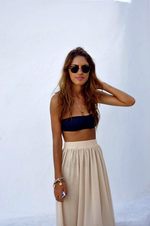 c56f293b5f0 10 High Low Maxi Skirt Outfits To Wear This Summer