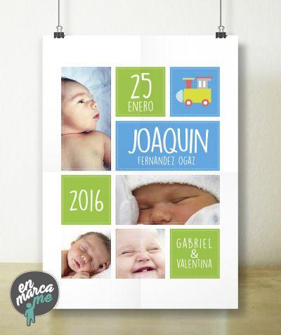 ¡Comparte la alegría, y llevate este cuadro a tu hogar! Personalizalo con tus fotos, datos y elige el marco que más te guste. Haz tus pedidos o consultas a conversemos@enmarcame.com. www.enmarcame.com www.facebook.com/enmarcamechile