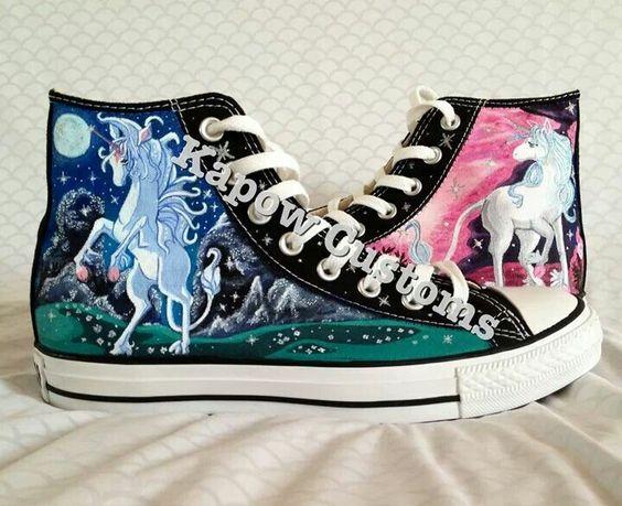 converse unicornio