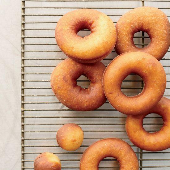 Vanilla Raised Doughnuts