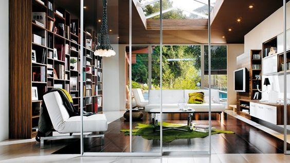 Bibliotheque salon