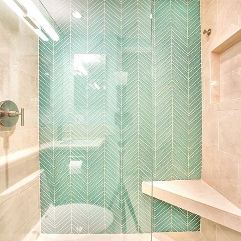 glass tile palms