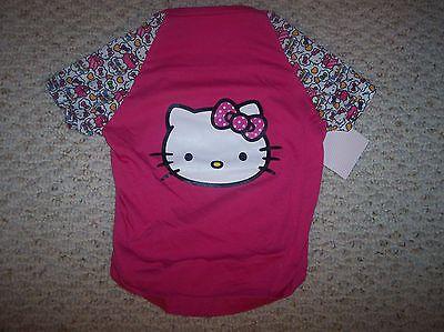 Hello Kitty Face Pink Tee  Female/Pet/Dog  Size L  NWT https://t.co/9dqQLnsXh3 https://t.co/5tYU6TEzaR