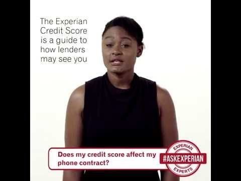 Does my credit score affect my phone contract? - YouTube