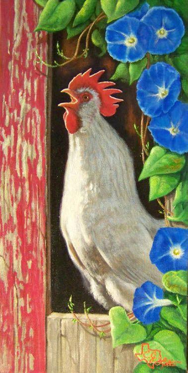 My place is called Morning Glory Dacha and I have backyard hens....this is sooooooo perfect!  Thanks, C J Latta! - Ginn, In Sunny SC