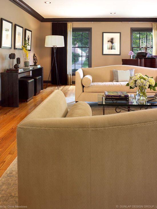Best Living Room Brown Trim Beige Walls And Dark Brown Trim 400 x 300
