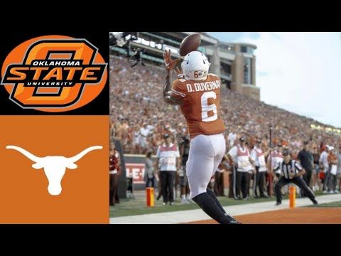Oklahoma State Vs 12 Texas Highlights Ncaaf Week 4 College Football Highlights Youtube With Images Football Highlight College Football Season College Football