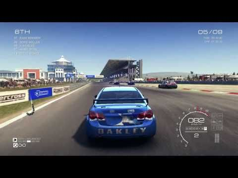 GRID Autosport - Gameplay PC  ( Race 2 )