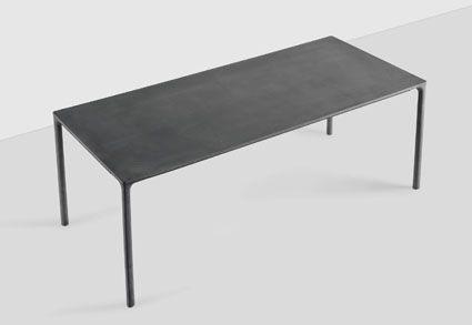 kristali boiacca table lucidi e pevere design concrete crea cemento cement beton design