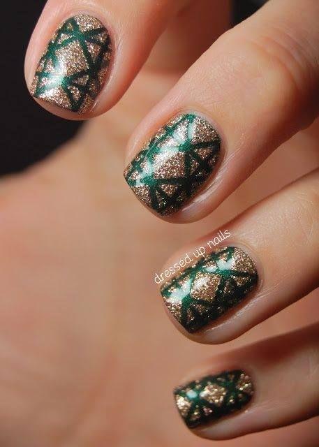 Christmas nails: Christmas Nails, Art Design, Nail Design, Nail Art