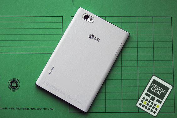 Задняя часть LG Optimus VU - http://keddr.com/2012/10/obzor-lg-optimus-vu/