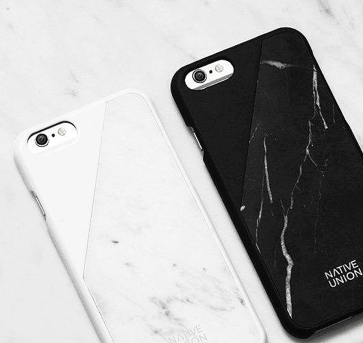 Handy Case Deluxe: Sieht nicht nur nach Marmor-Design aus, sondern ist auch aus echtem Naturstein. Hier entdecken und shoppen: http://sturbock.me/eEy
