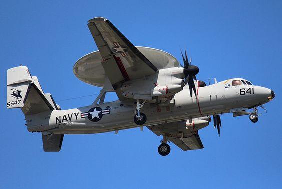 """US Navy E-2C """"Hawkeye"""" 641, 165647, Myrtle Beach, South Carolina, Summer 2016."""