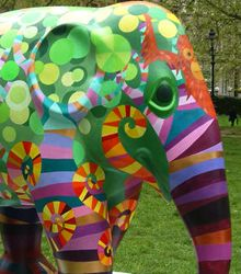 Artists helping to save Asian elephants
