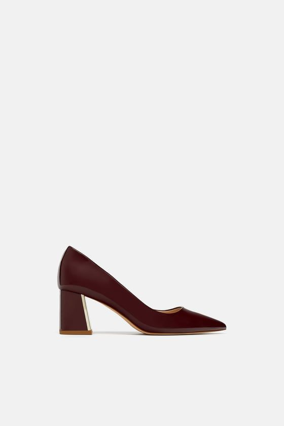 Block Heel High Heels Zara Block Heel Shoes