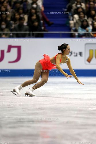 Mao Asada (JPN), .APRIL 11, 2013 - Figure Skating : .the Ladies short program during the ISU World Team Trophy 2013 in Tokyo, Japan. .(Photo by Koji Aoki/AFLO SPORT) .