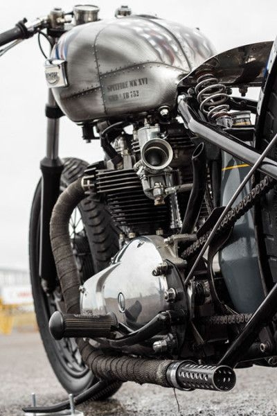 Bobber Inspiration | Triumph bobber | Bobbers and Custom Motorcycles: