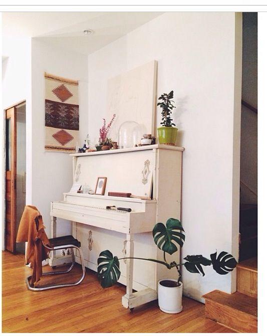 Piano corner. From Emily_Katz instagram