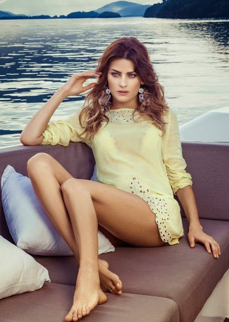 Isabelli Fontana by Jacques Dequeker for Morena Rosa Beach 2014-018